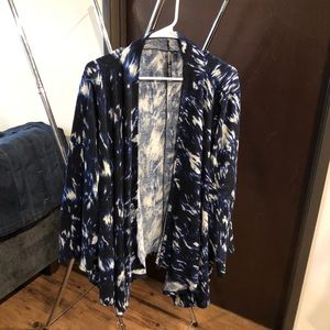 Cover up sweater 3x